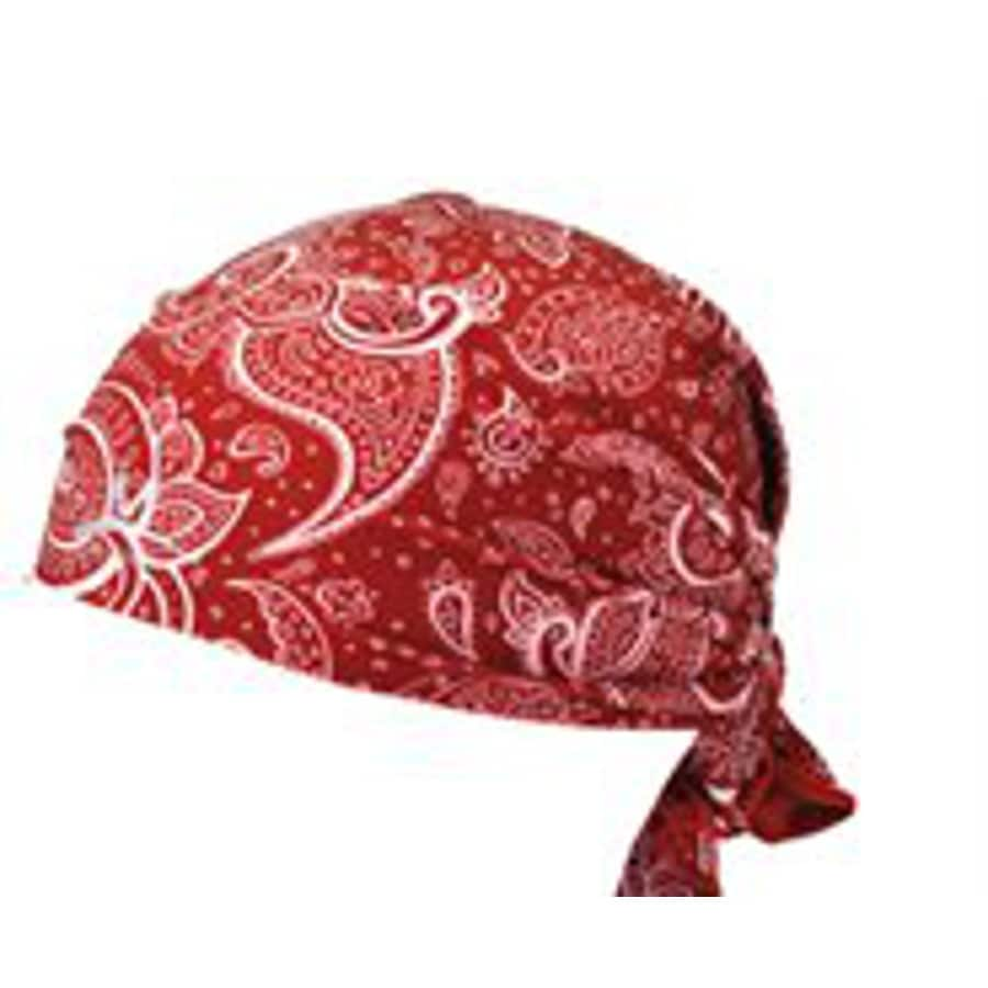 Mission One Size Fits Most Unisex M Red Polyester Knit Hat