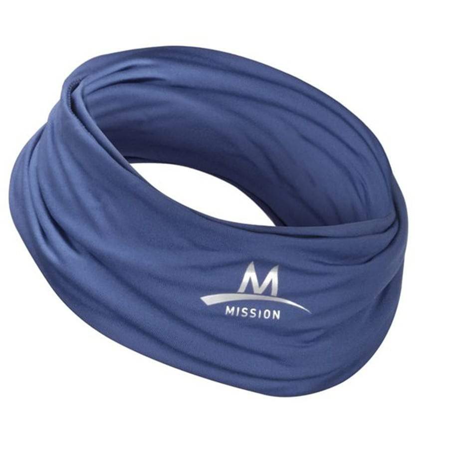 Mission Midnight Blue Polyester Cooling Towel