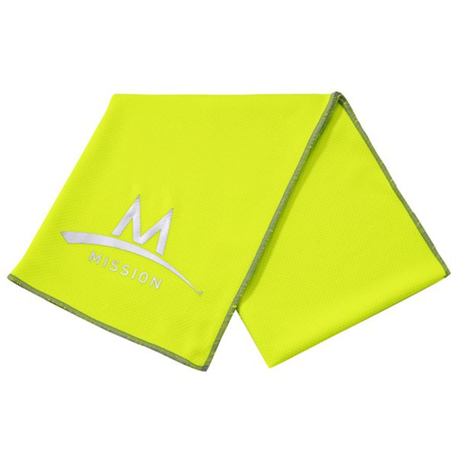 Mission Green Polyester Cooling Towel