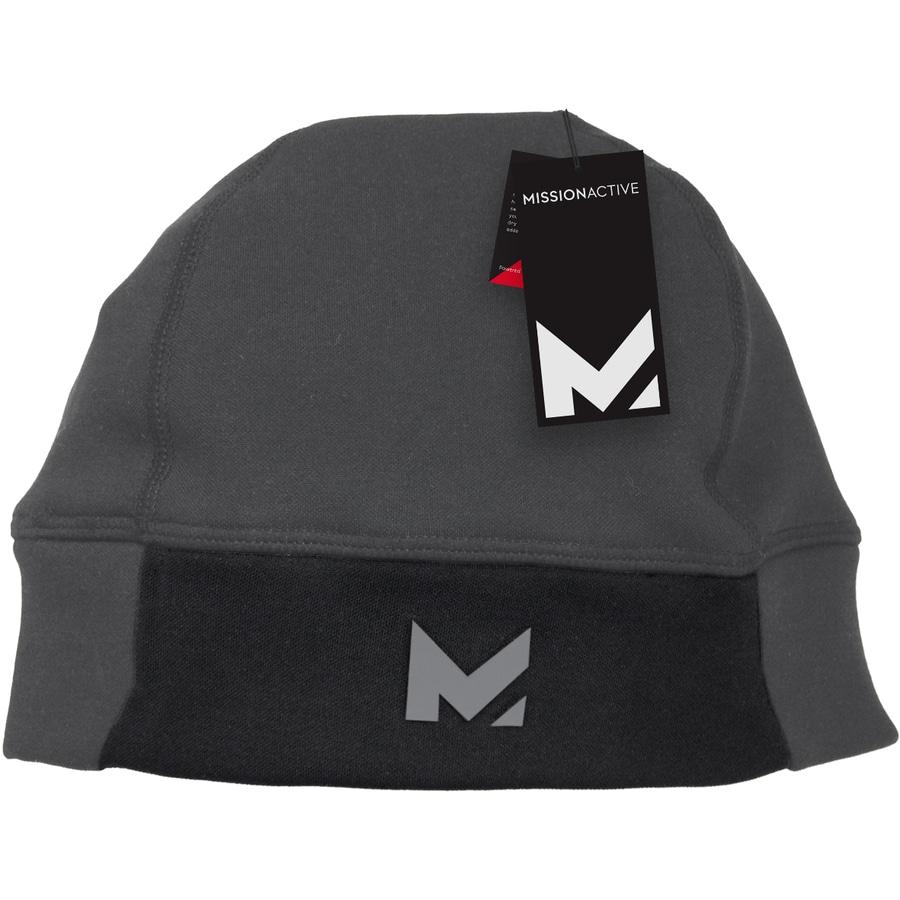 Mission One Size Fits Most Unisex M Carbon Fleece Knit Hat