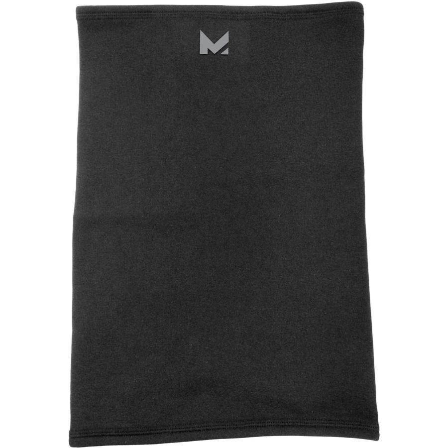 Mission One Size Fits Most Unisex M Black Fleece Knit Hat