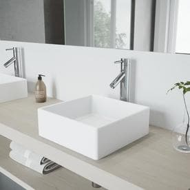VIGO Dior 1 Handle Vessel WaterSense Bathroom Faucet