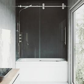 VIGO Elan 60 In W X 66 In H Bathtub Door