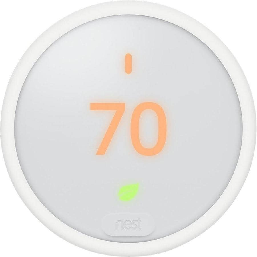 Nest E Smart Thermostat with Wi-Fi Compatibility at Lowes com