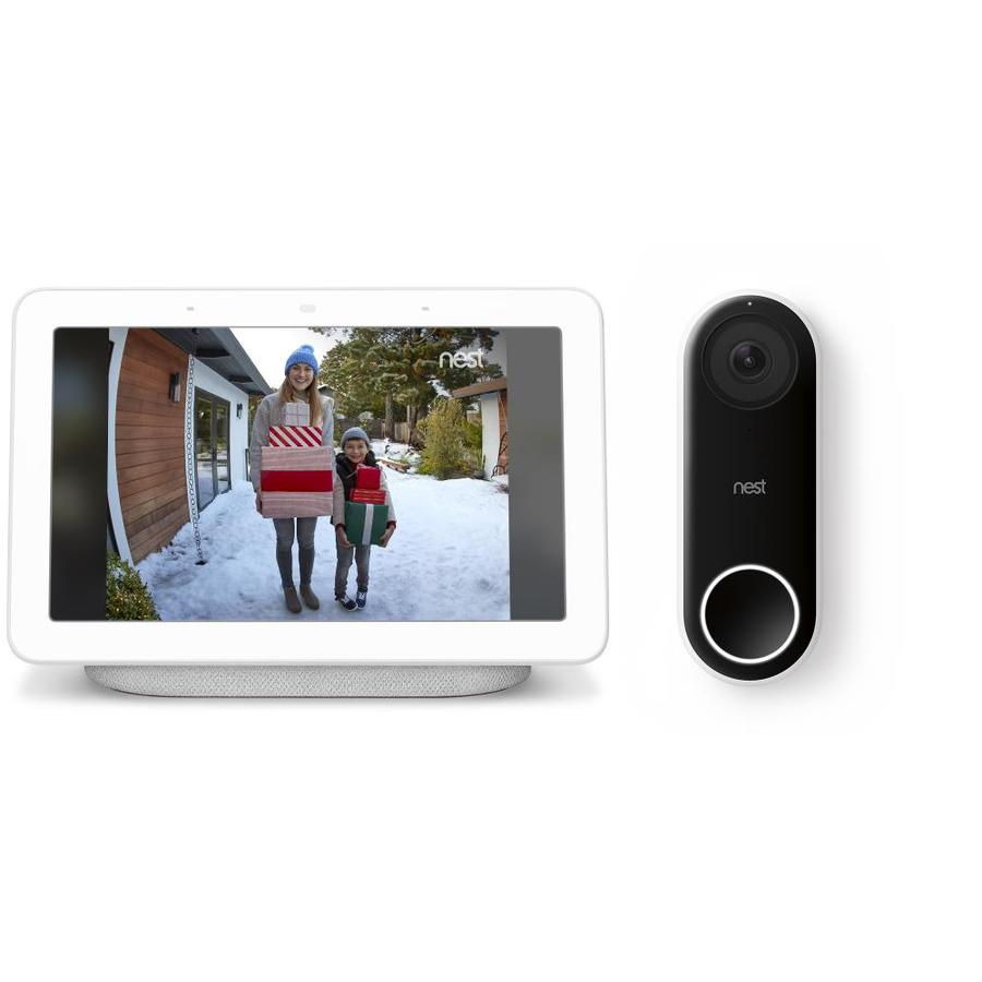 fbb0a69e33009 Google Home Hub + Nest Hello Doorbell Bundle at Lowes.com