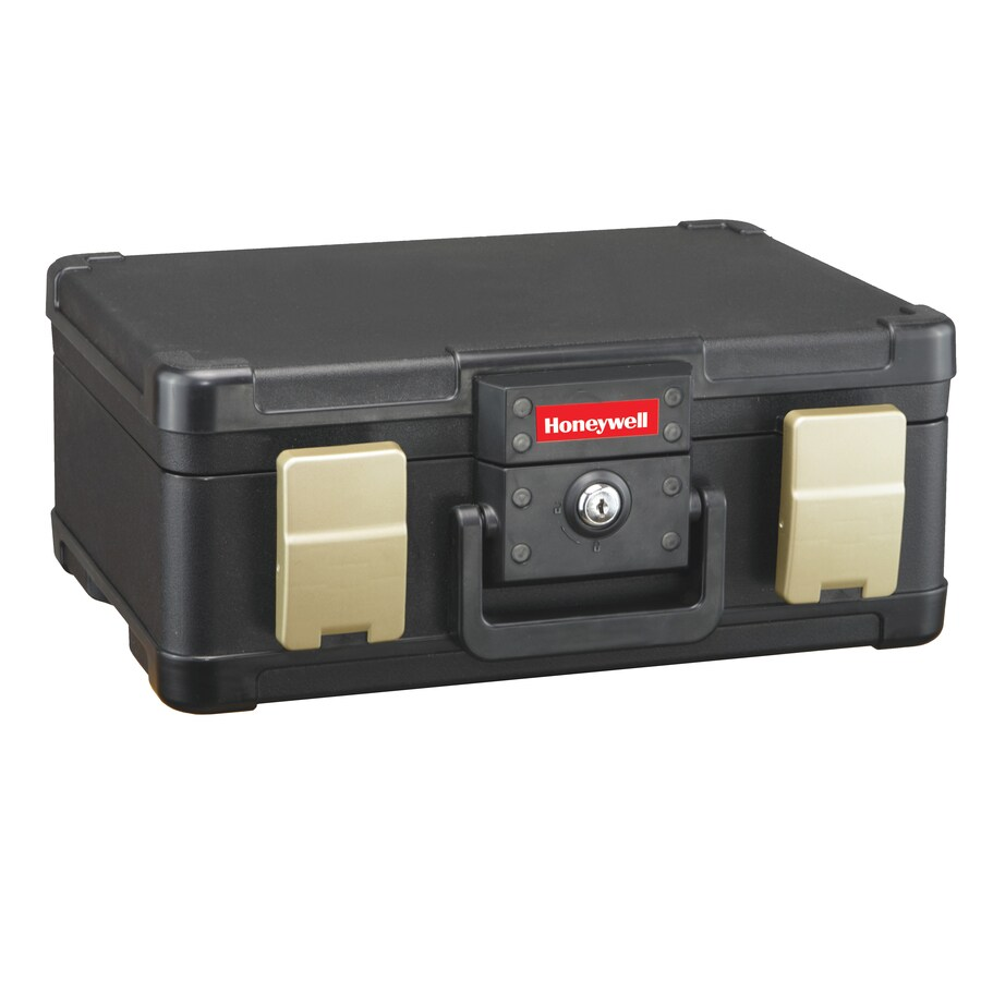 Honeywell 1/4-cu ft Keyed Fire Resistant Waterproof Chest Safe