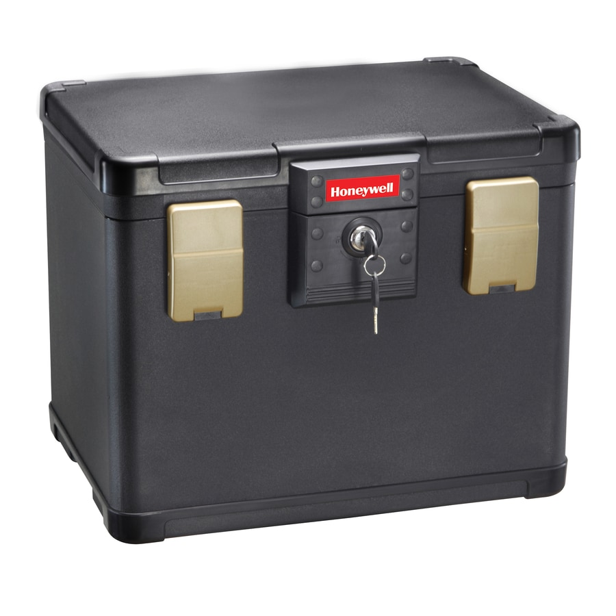 Honeywell 0.6-cu ft Keyed Fire Resistant Waterproof Chest Safe