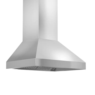 Zline Kitchen Amp Bath Ducted Stainless Steel Wall Mounted