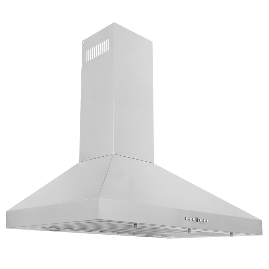 ZLINE KITCHEN & BATH Convertible Wall-Mounted Range Hood (Brushed 430 Stainless Steel) (Common: 36-in; Actual: 36-in)