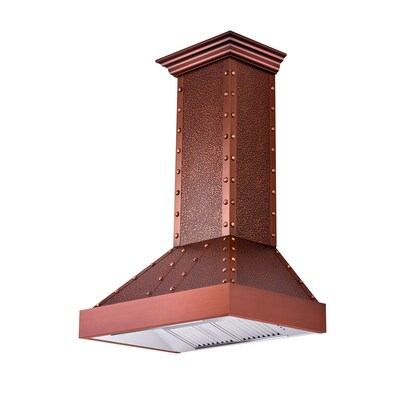 Zline Kitchen Bath 30 In Convertible Copper Wall Mounted