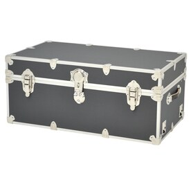Rhino Trunk And Case 31 Gallon Slate Wood Storage Trunk