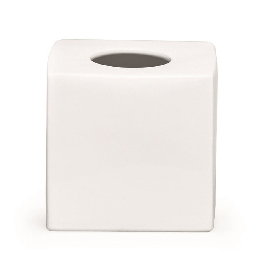Moda at Home Prime White Ceramic Bathroom Coordinate Set