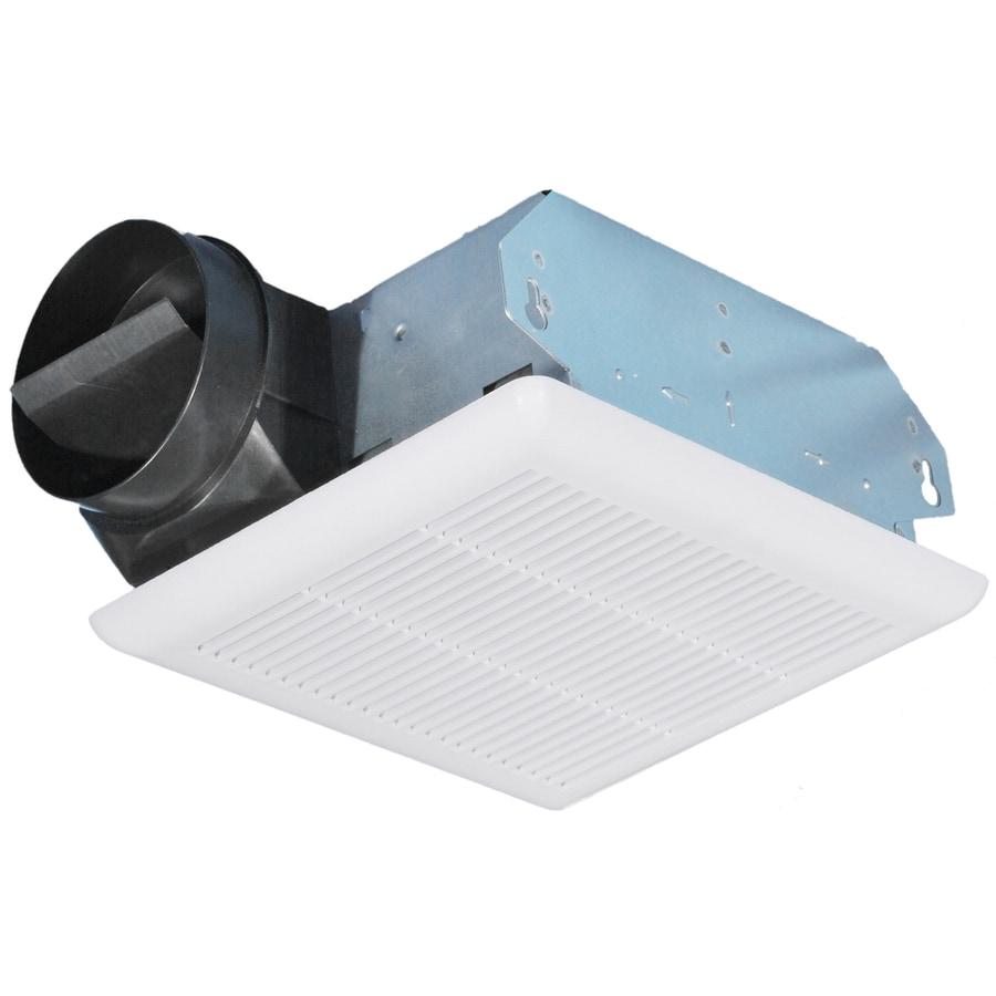 Utilitech 4.5-Sone 70-CFM White Bathroom Fan