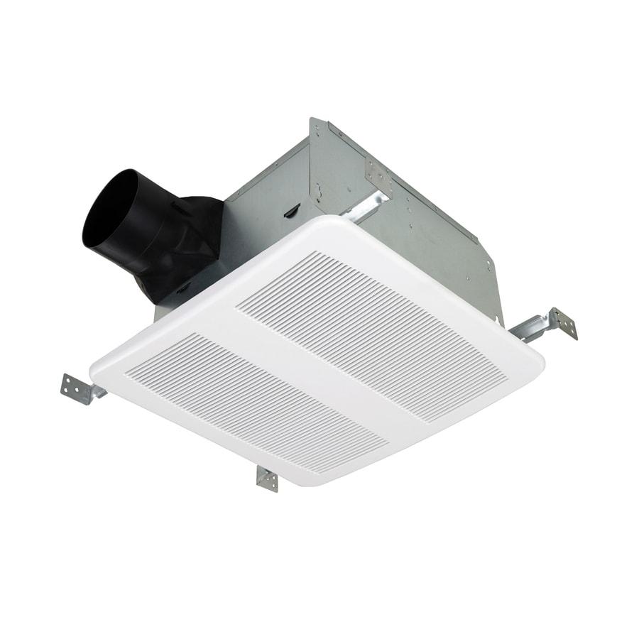 Utilitech 1/2 Sones 110-CFM White Bathroom Fan ENERGY STAR