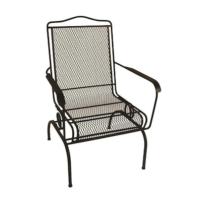 Stackable Metal Spring Motion Dining Chair S With Mesh Seat