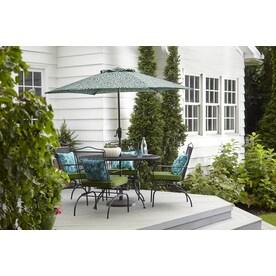 Garden Treasures Stackable Iron Spring Motion Dining Chair