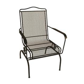 shop metal mesh patio chairs at lowes com rh lowes com metal mesh patio furniture Mesh Type Patio Lounge Chair