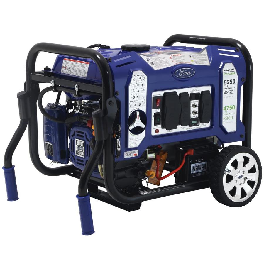 Ford 4250 Running Watt Gasoline Portable Generator At