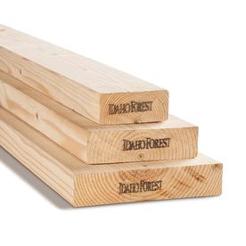 Top Choice 2 x 4 x 12-ft Fir Lumber (Common);  1.5-in x 3.5-in x 12-ft (Actual)