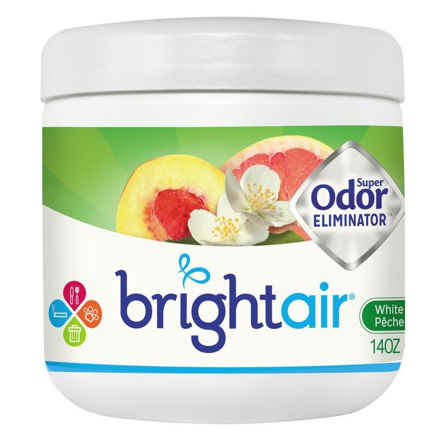 BRIGHT Air White Peach and Citrus Solid Air Freshener