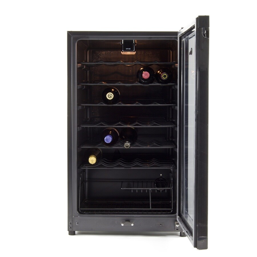 Equator-Midea 35-Bottle Black Wine Chiller
