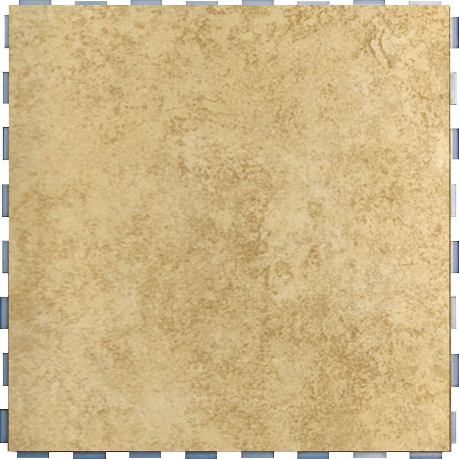 SnapStone Interlocking 5-Pack Sand Porcelain Floor Tile (Common: 12-in x 12-in; Actual: 12-in x 12-in)