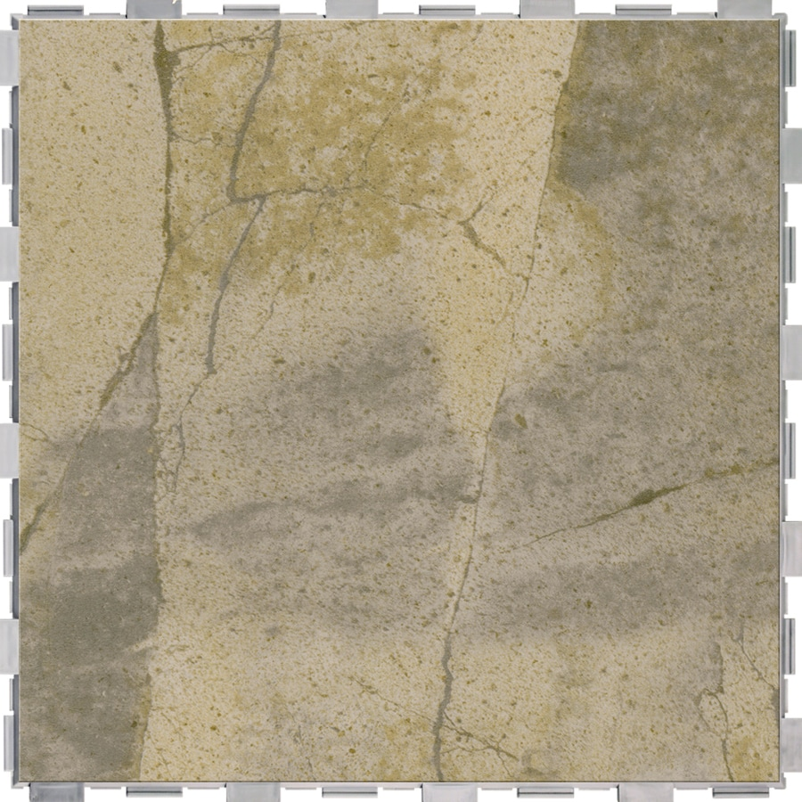 Snapstone Interlocking 4 Pack Bedrock Porcelain Floor Tile Common 18 In X