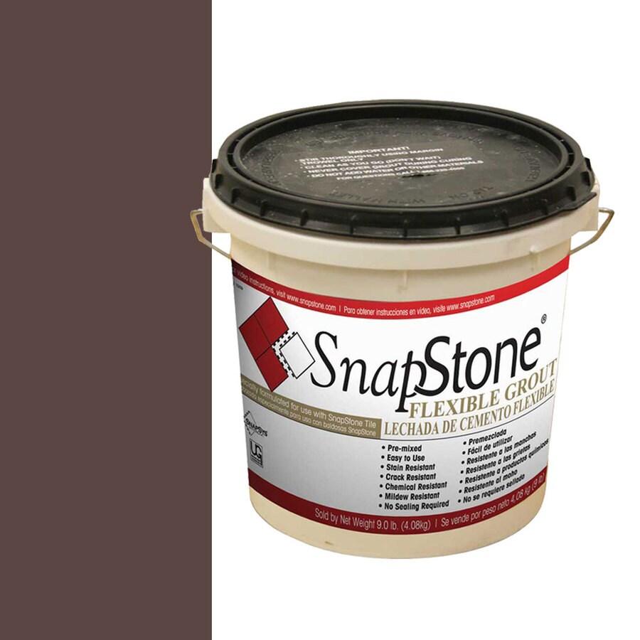 SnapStone 9-lb Chestnut Urethane Premixed Grout