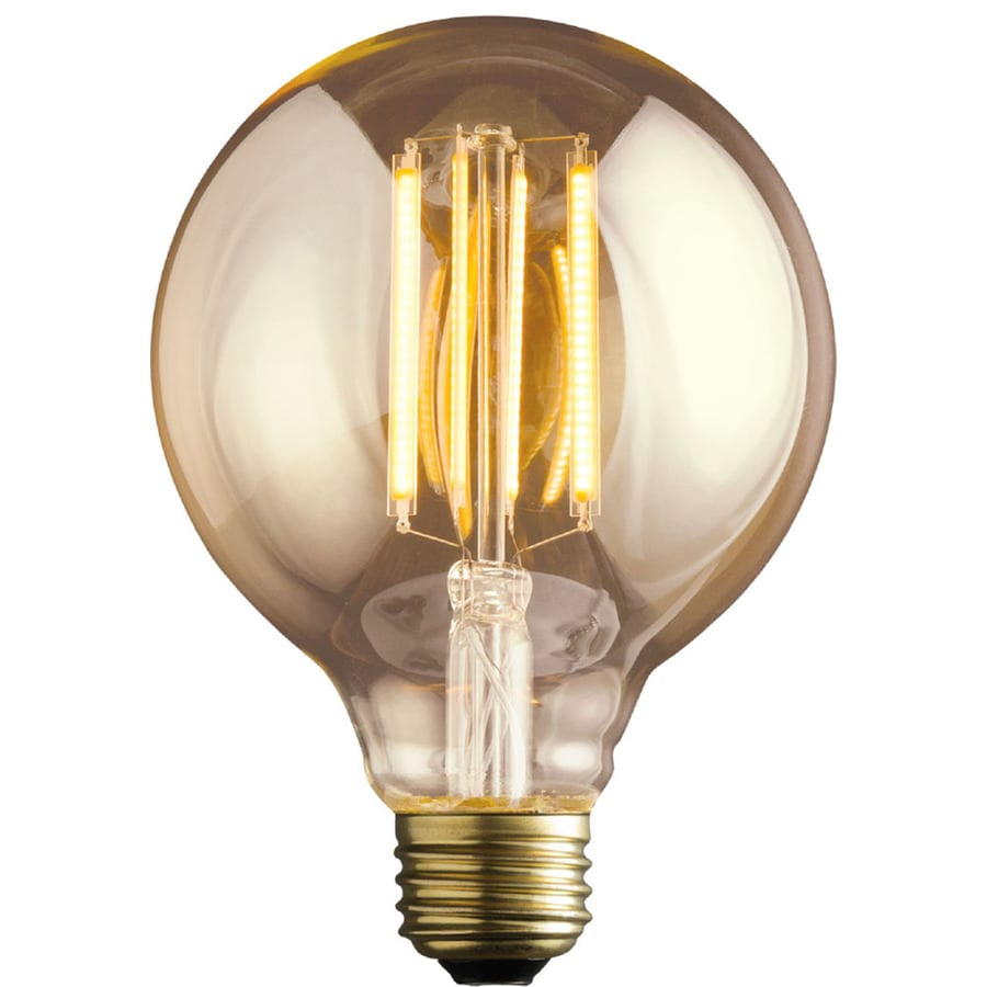 kichler vintage 60w equivalent dimmable amber vintage led decorative light bulb - Decorative Light Bulbs