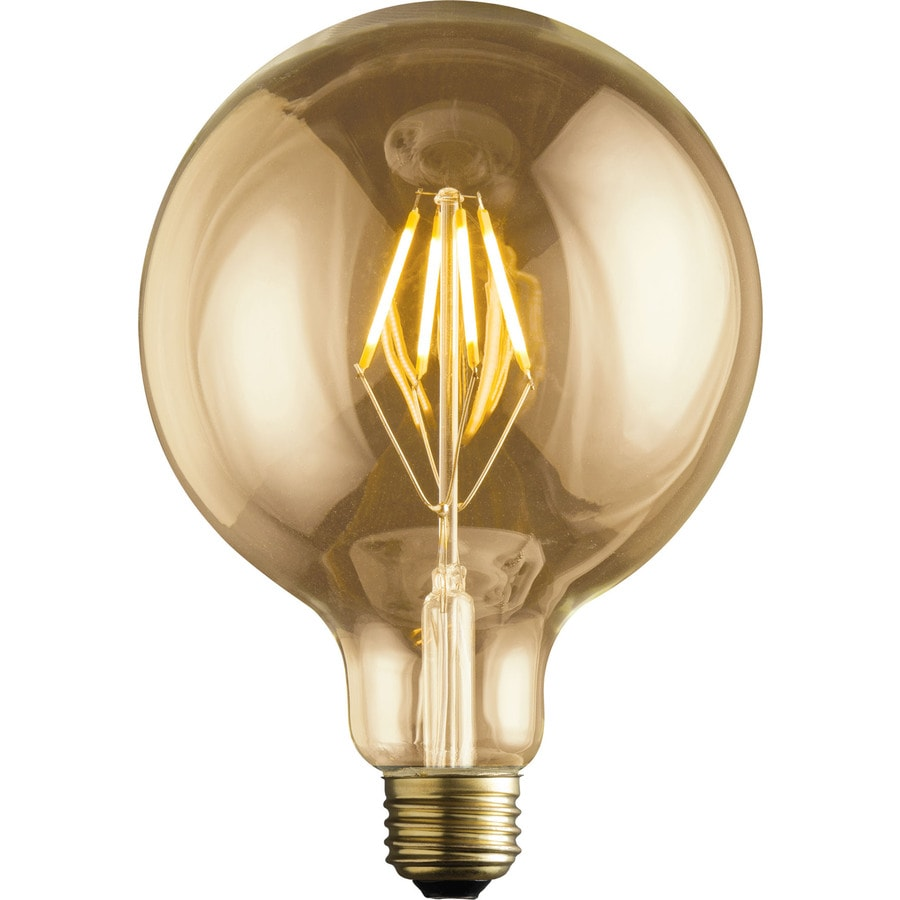 Kichler Vintage 60w Equivalent Dimmable Amber Led Decorative Light Bulb