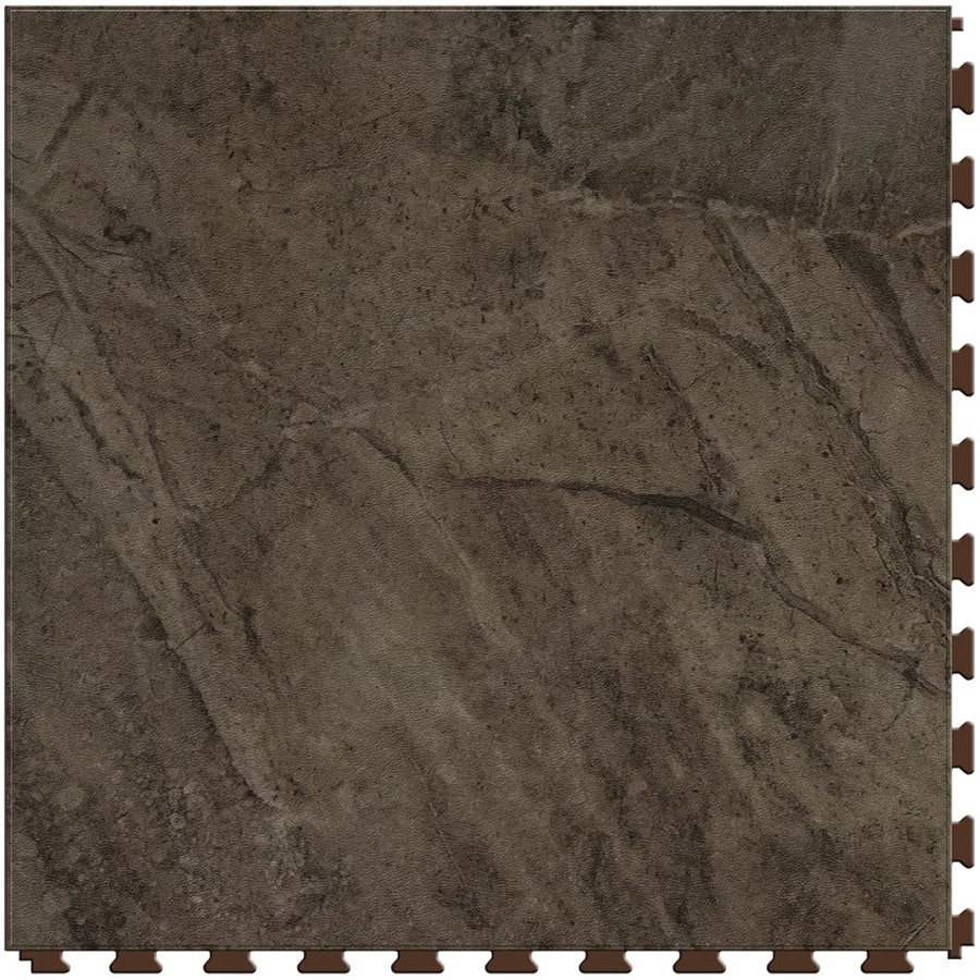 Shop Perfection Floor Tile Stone Creek 6 Piece 20 In X 20