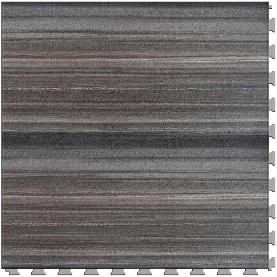 Perfection Floor Tile Stone Creek 6-Piece 20-in x 20-in Smokey Mountain Locking Pattern Luxury Vinyl Tile