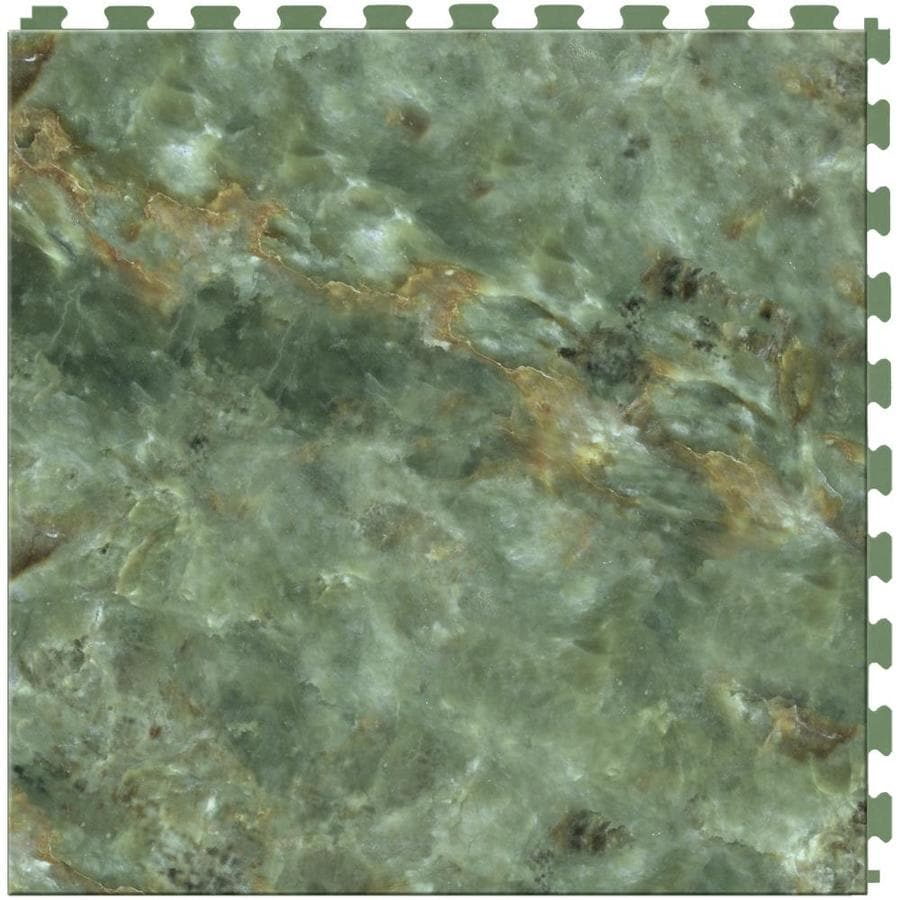 20 x 20 floor tile patterns columbialabelsfo shop perfection floor tile stone creek 6 piece 20 in x 20 in verde dailygadgetfo Choice Image
