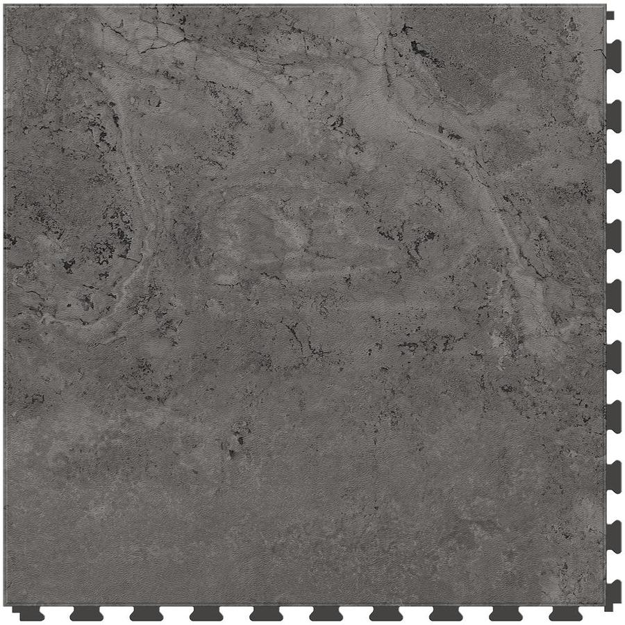 Shop perfection floor tile travertine 6 piece 20 in x 20 in gray perfection floor tile travertine 6 piece 20 in x 20 in gray locking dailygadgetfo Images