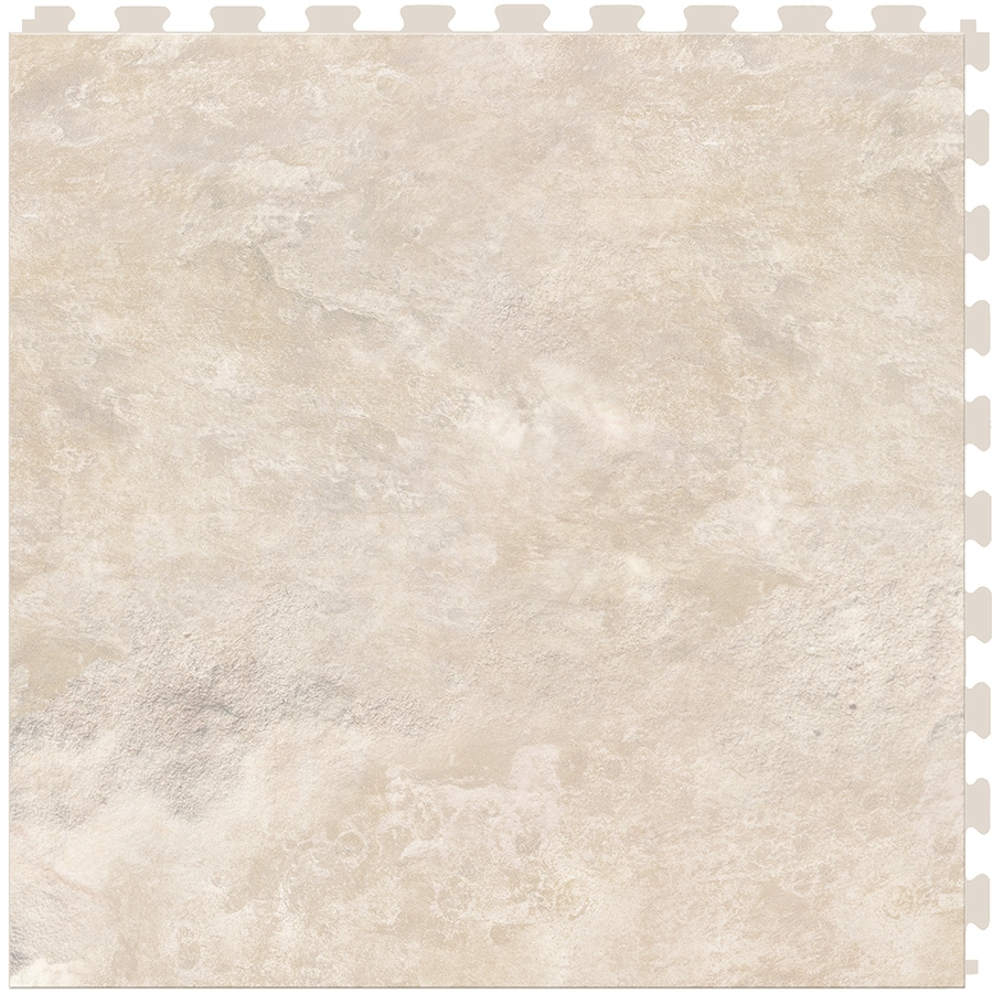 Perfection Floor Tile Lvt 6-Piece 20-in x 20-in Multi Floating Stone Luxury Commercial/Residential Vinyl Tile