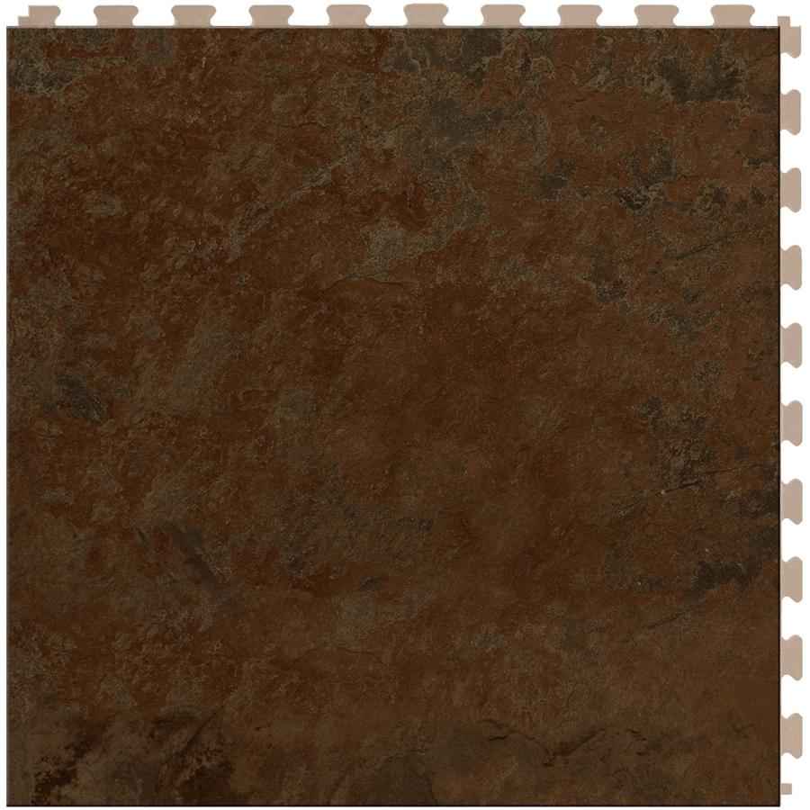 Perfection Floor Tile Lvt 6-Piece 20-in x 20-in Sedona Loose Lay Pattern Luxury Vinyl Tile Commercial/Residential Vinyl Tile