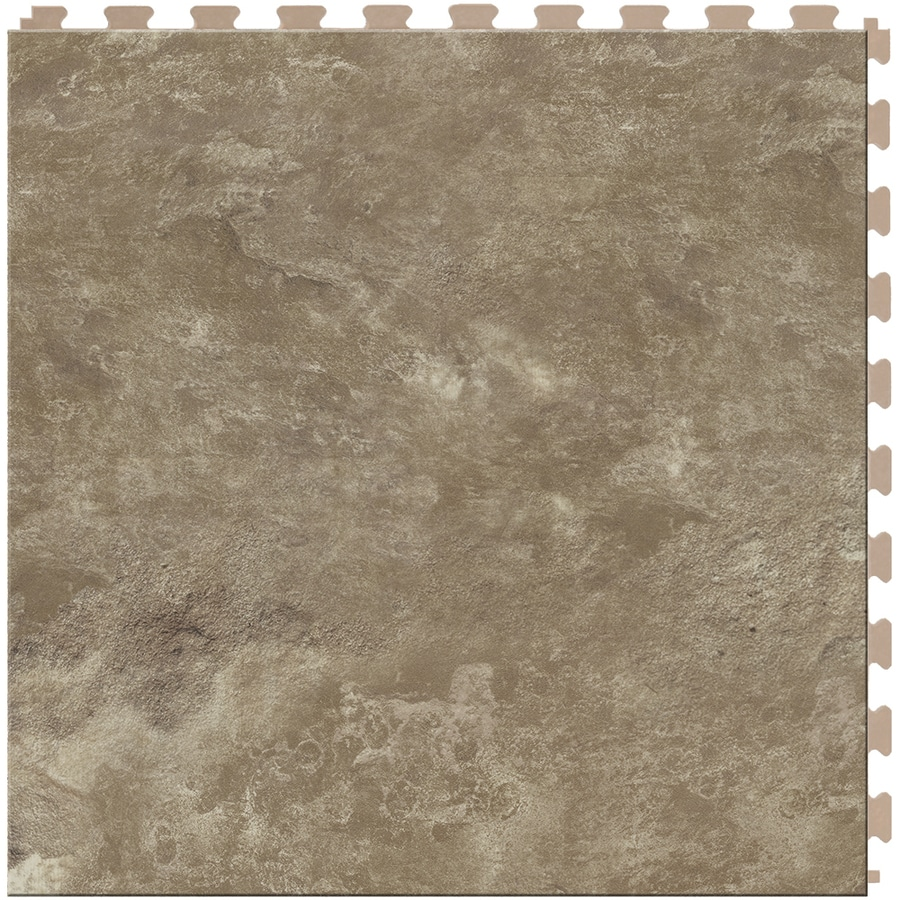 Perfection Floor Tile Lvt 6-Piece 20-in x 20-in Atlantic Loose Lay Pattern Luxury Vinyl Tile Commercial/Residential Vinyl Tile