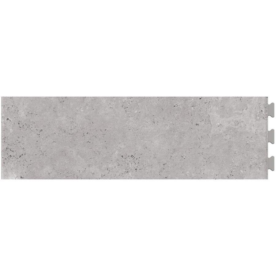 Shop Perfection Floor Tile Travertine Silver Vinyl Tile Sample At