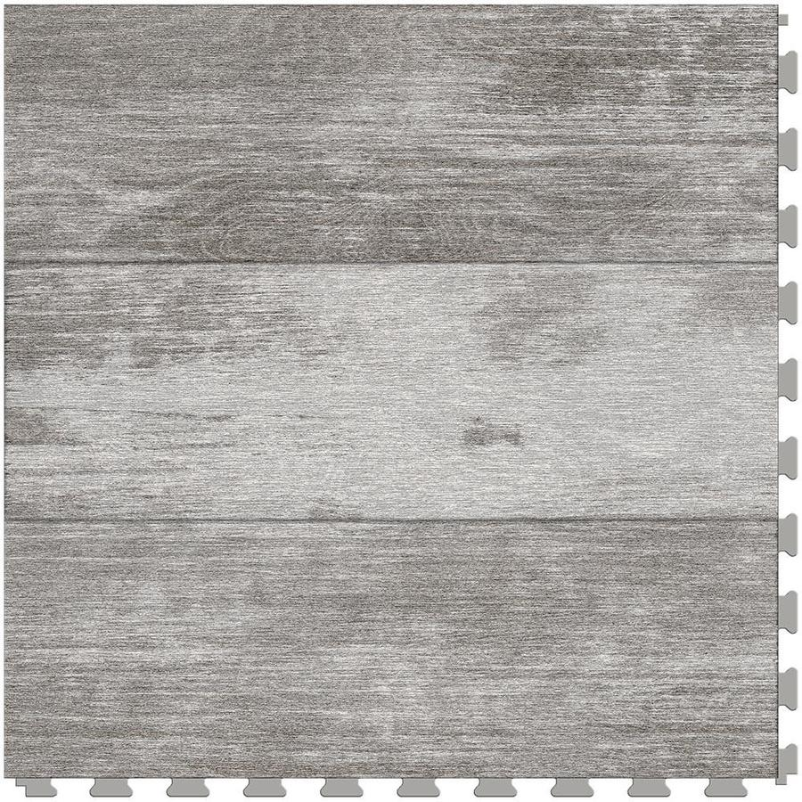 shop perfection floor tile vintage wood collection 6-piece 20-in x