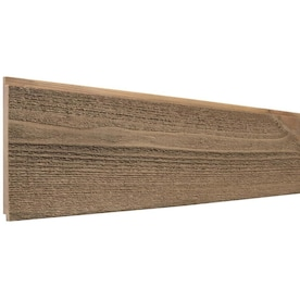 Rough Sawn Shiplap 5.5-in x 8-ft Brown Pine Shiplap Wall Plank (Coverage Area: 3.67-sq ft)