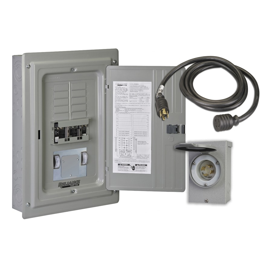Reliance Third Pole Manual Transfer Switch