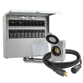 cost to hook up a transfer switch