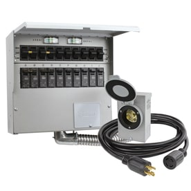 Shop generator transfer switch kits at lowes reliance protran2 7500 watt generator transfer switch kit publicscrutiny Choice Image