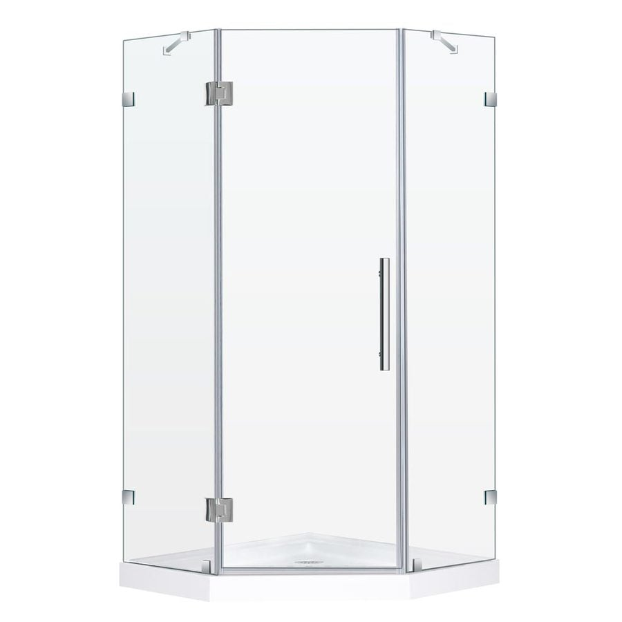 DreamLine 72-in H Frameless Neo-Angle Shower Door