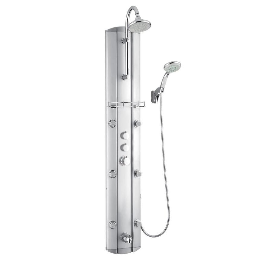 DreamLine 4-Way Satin Shower Panel System
