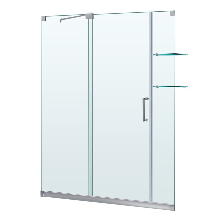 DreamLine Mirage 56-in to 60-in W x 72-in H Frameless Sliding Shower Door