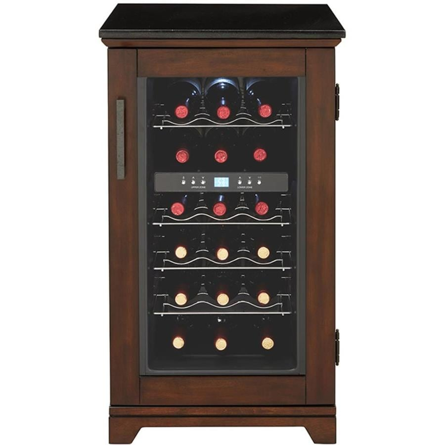 Scott Living 18 Bottle Capacity Dual Zone Cooling Built In