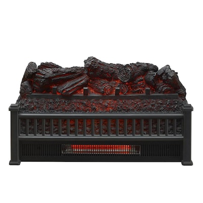 Astonishing Mr Heater 23 In W 5100 Btu Black Electric Fireplace Logs Home Interior And Landscaping Elinuenasavecom