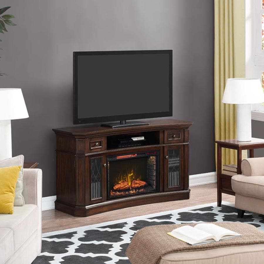 Shop Scott Living Inches W Btu Electric Fireplace At