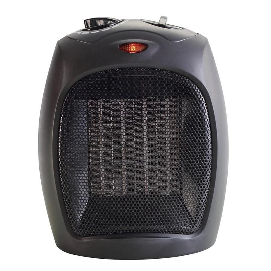 5100-BTU Ceramic Compact Personal Electric Space Heater with Thermostat